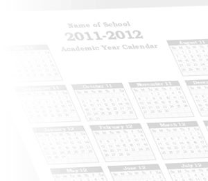 Academic Calendar Templates for 2013-2014