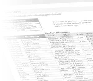 Free Home Inventory Spreadsheet Template for Excel