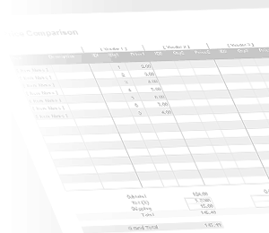Free Price Comparison Template for Excel