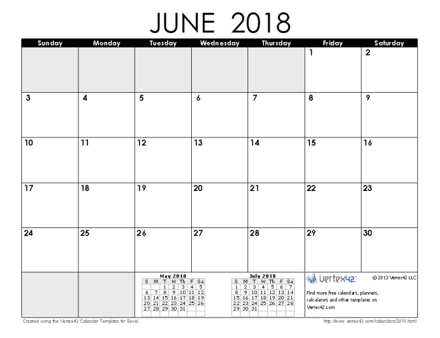 June Calendar Vertex : June calendar free download high school