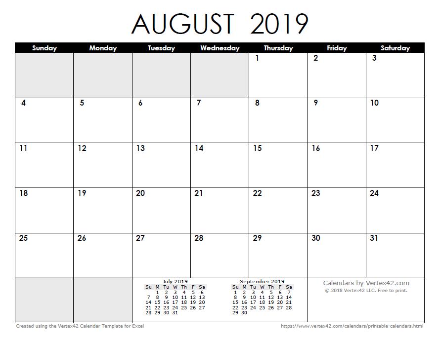 free printable calendar printable