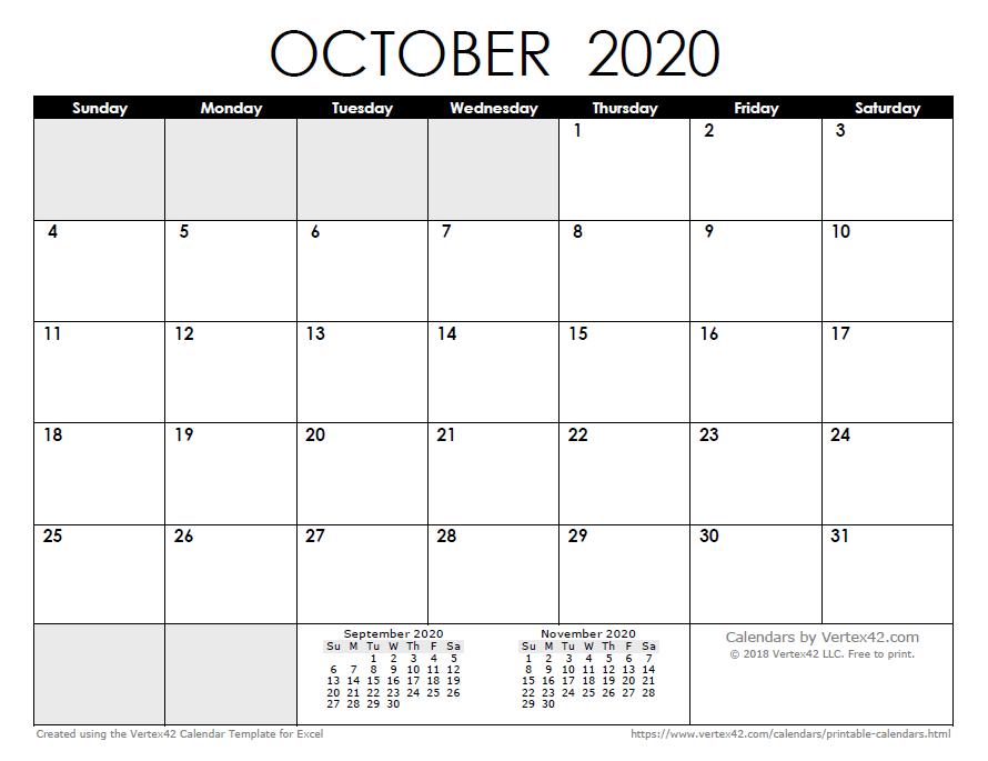 vertex calendar
