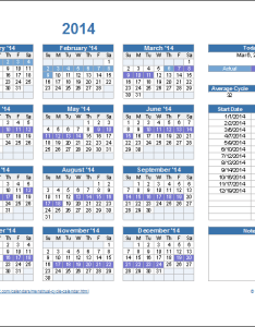 Screenshot of the menstrual cycle calendar and period tracker also rh vertex
