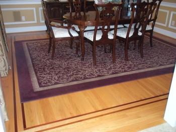 dining room floor