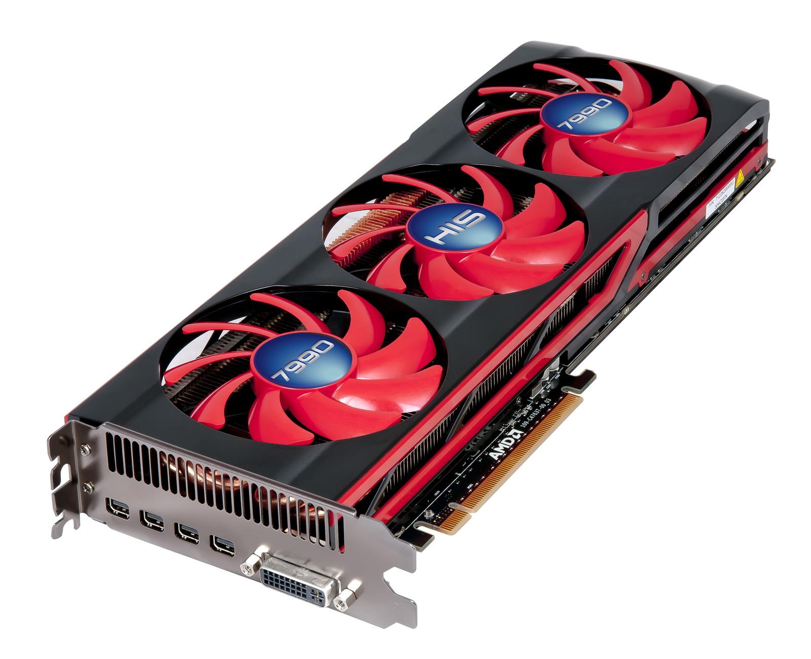 HIS Launches HD 7990 Fan Edition | VideoCardz.com
