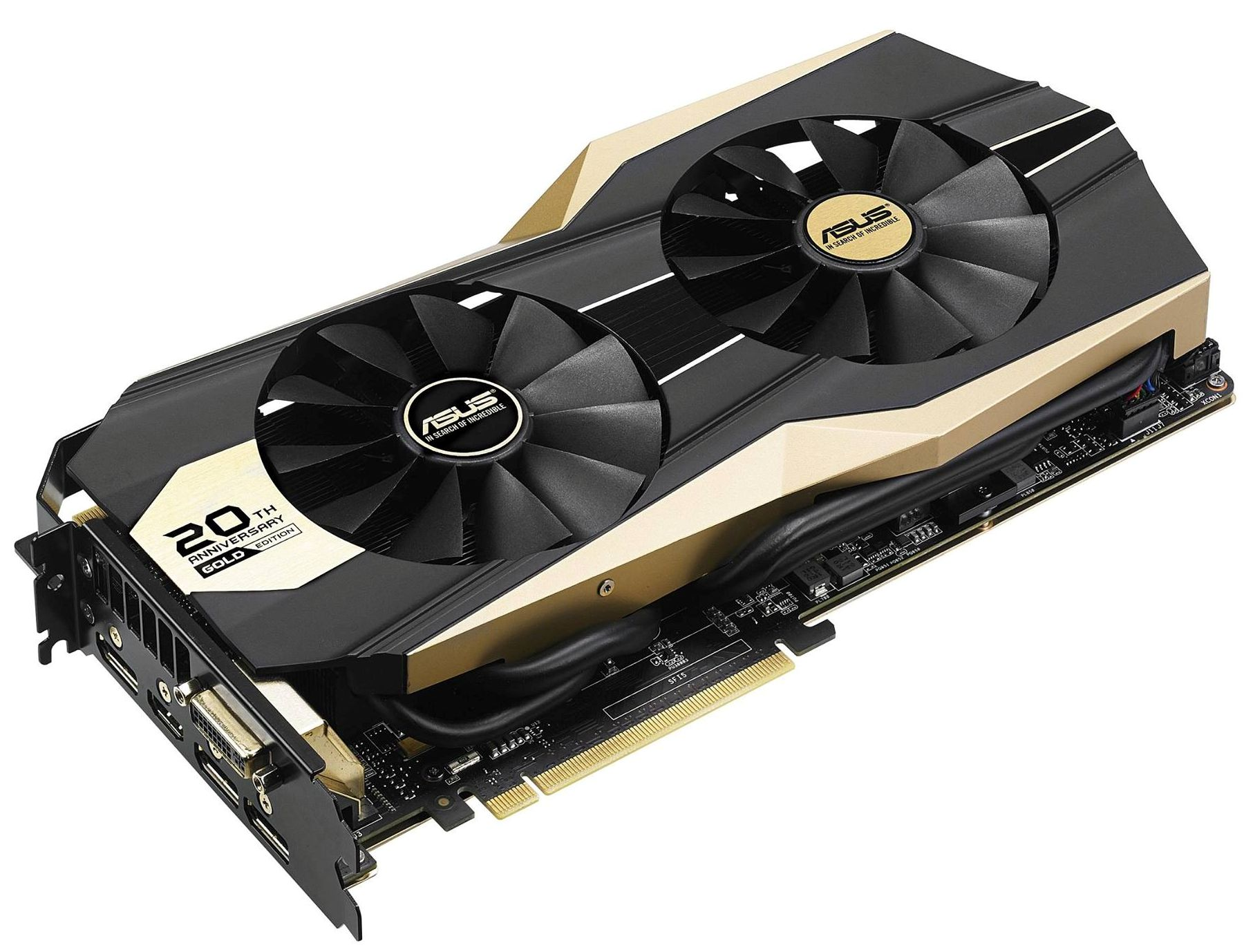 ASUS Makes GeForce GTX 980 20th Anniversary Gold Edition Official