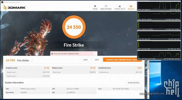 First overclocked GeForce GTX 1080 Ti 3DMark benchmarks ...