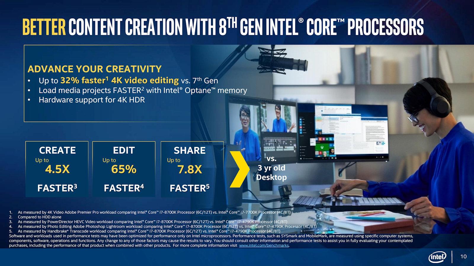 Intel announces 8th Gen Intel Core Processors Family for