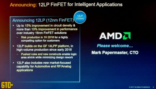 Global Foundaries 12LP 1000x575 AMDs 14nm+ concept vanishing with time   The company wants to move Ryzen and Vega architectures to 12nm