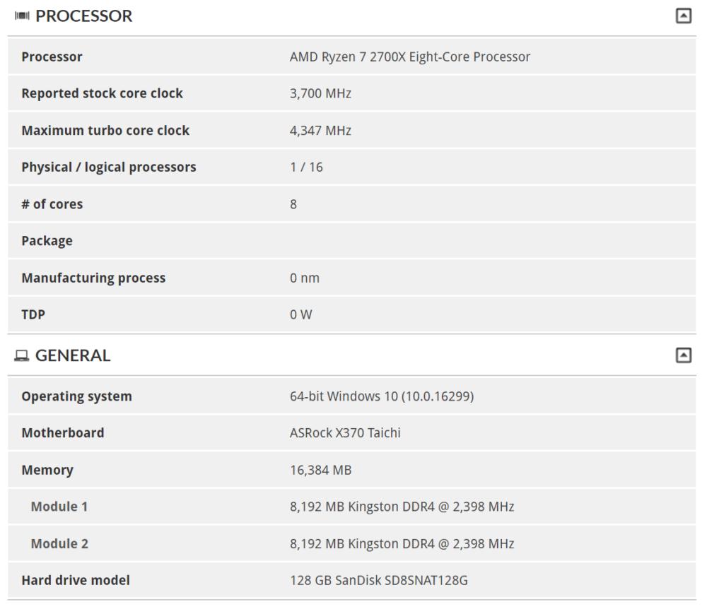 AMD Ryzen 7 2700X/2700 and Ryzen 5 2600X/2600 benchmarks