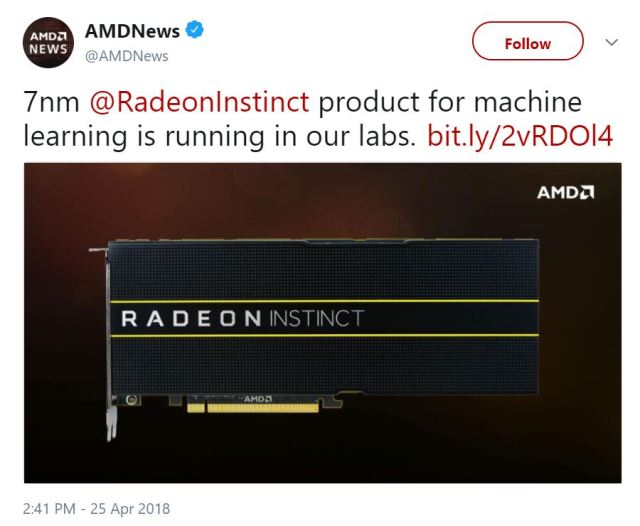 AMD Vega 20 Will 7nm process chips become reality? The AMD labs might be evaluating the technology at the moment!