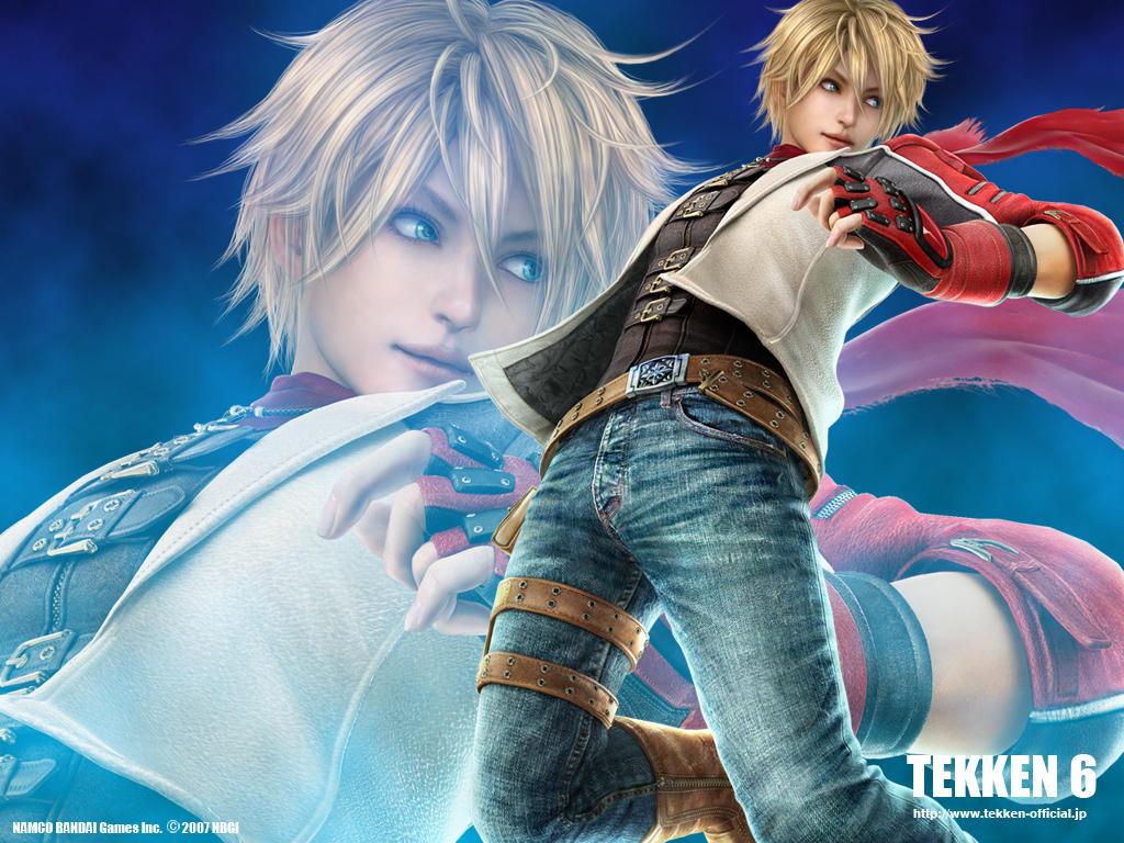 Jin Kazama Hd Wallpaper Official Tekken 6 Character List