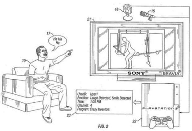 PS3 emotion sensing coming? Sony files interesting new patent