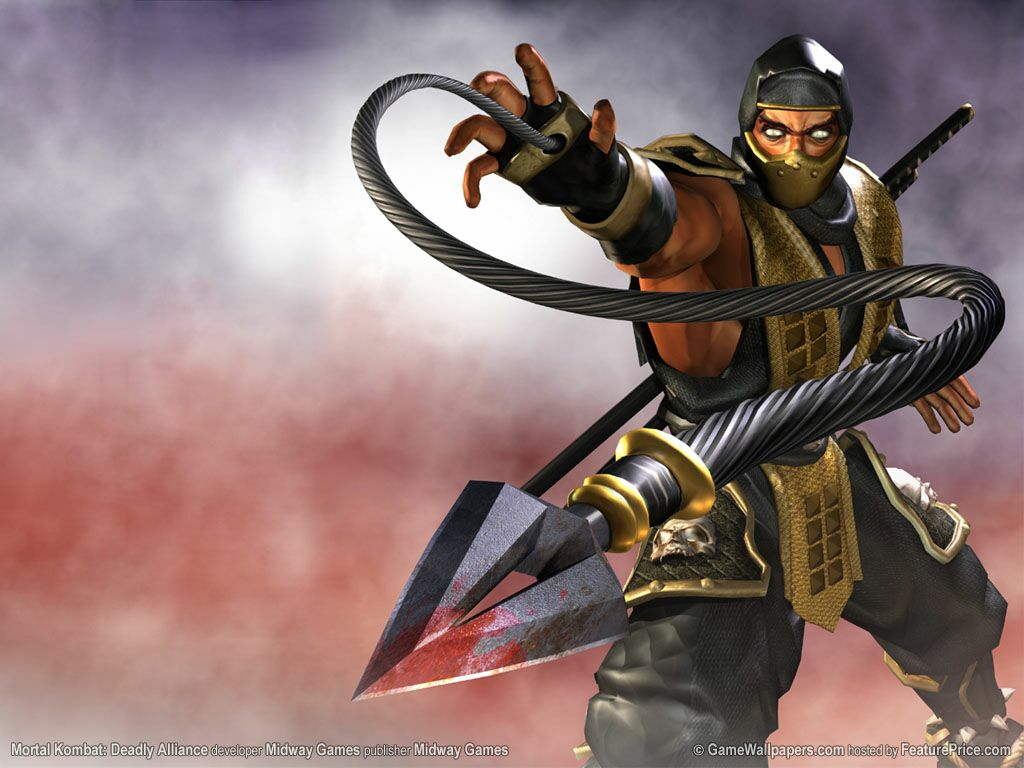 Sub Zero Mortal Kombat X Iphone Wallpaper All Mortal Kombat Deadly Alliance Fatalities And