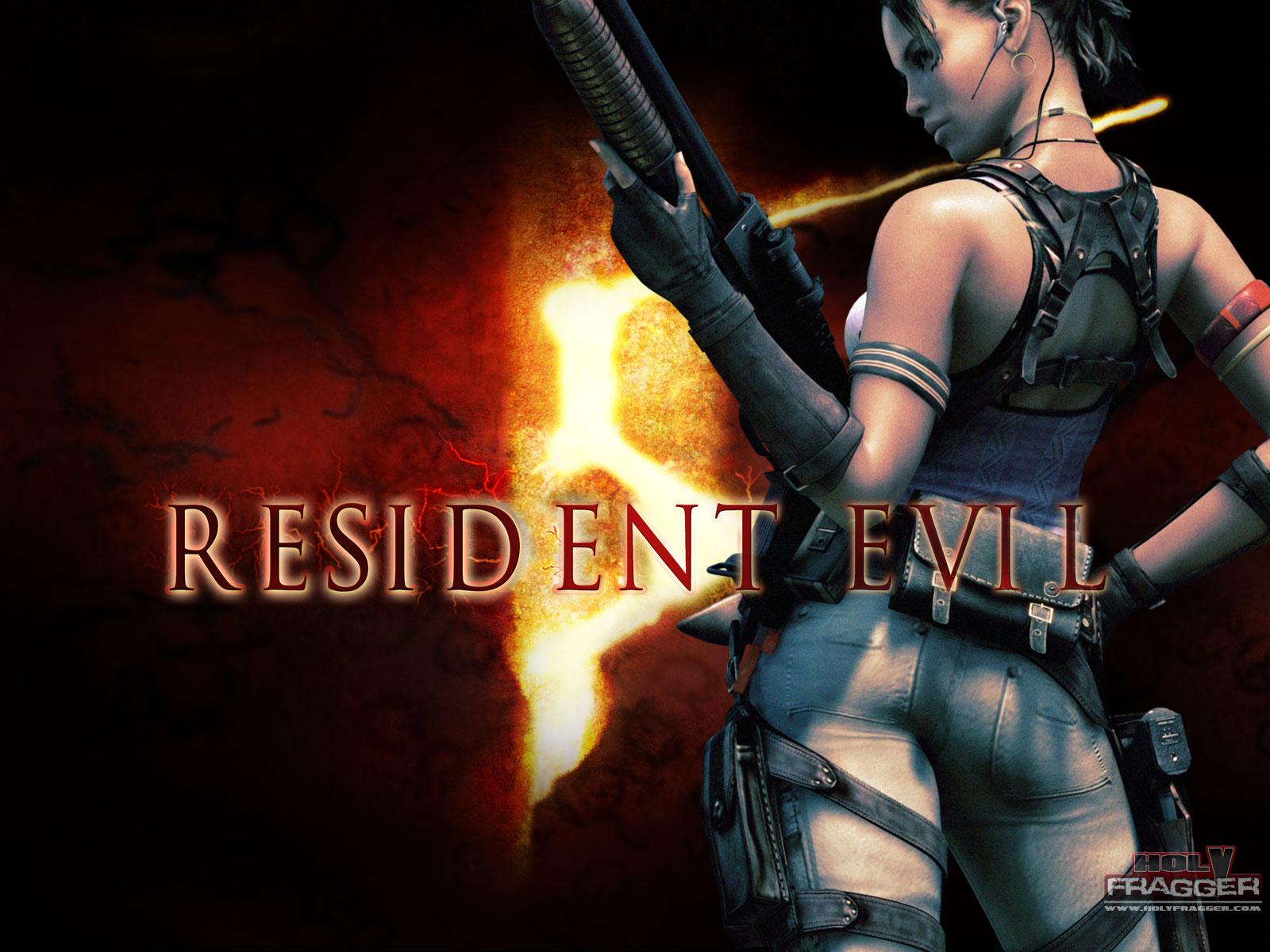 Nerdy Girl Wallpaper Hd Free Download Resident Evil 5 Wallpaper