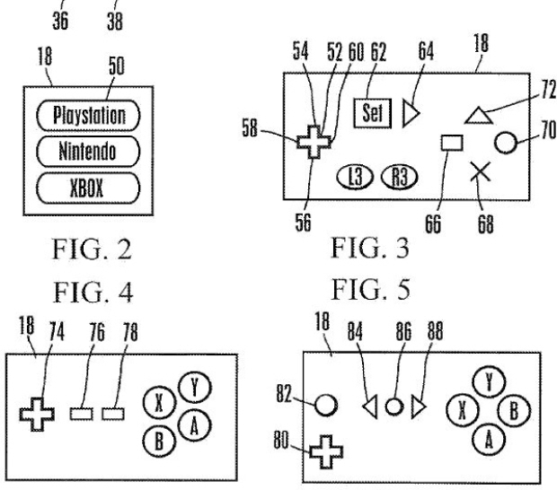 Sony files universal controller patent. Would work with