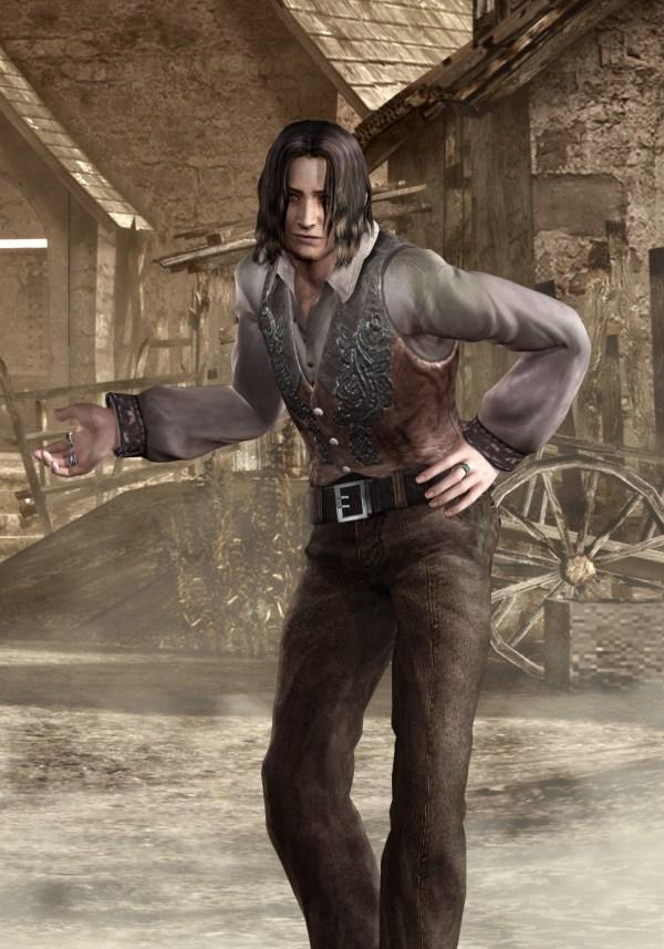 Luis Sera Art Resident Evil 4