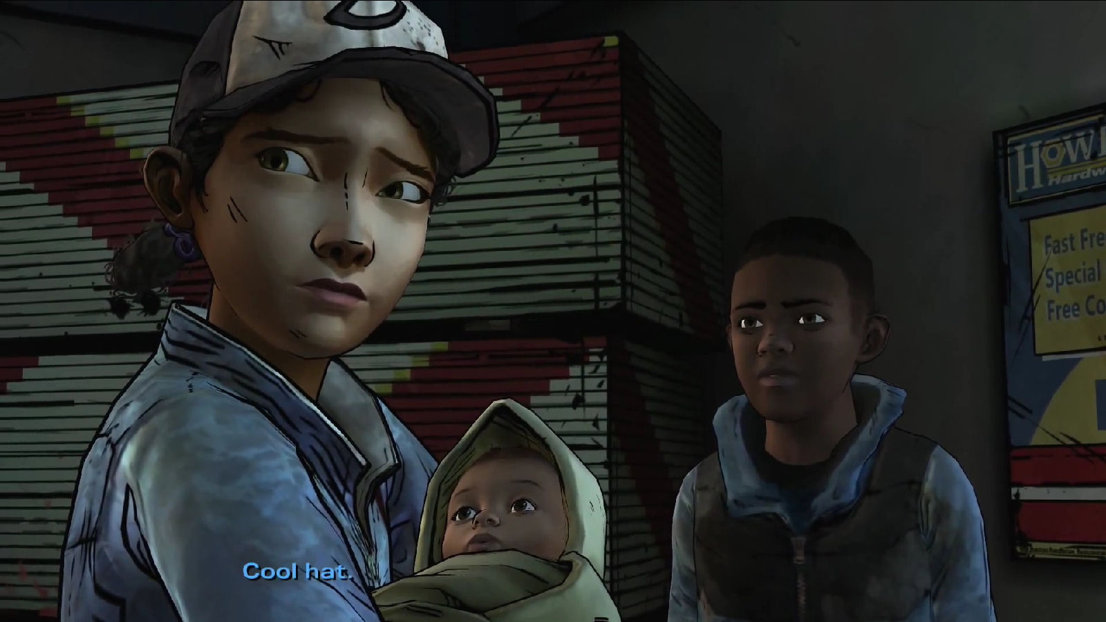 The Walking Dead Game Season 3 Clementines Cool Hat Screenshot