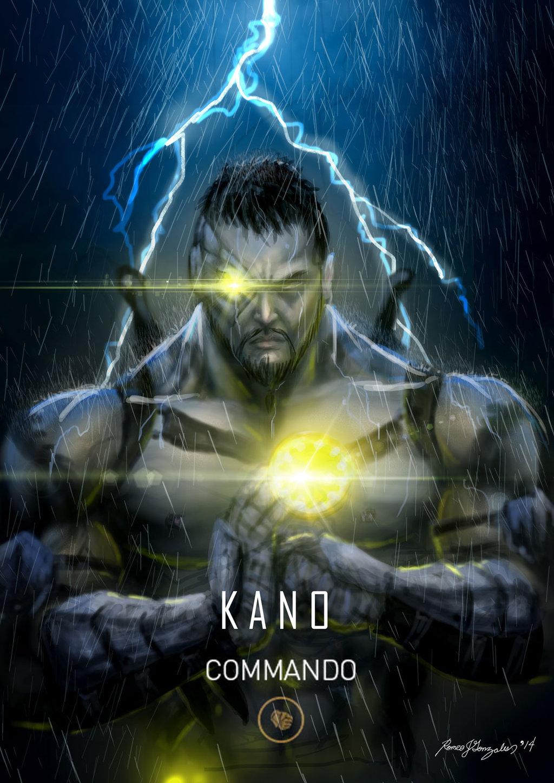 Uncharted Iphone Wallpaper Mortal Kombat X Wallpaper Kano Commando Variation Fanart