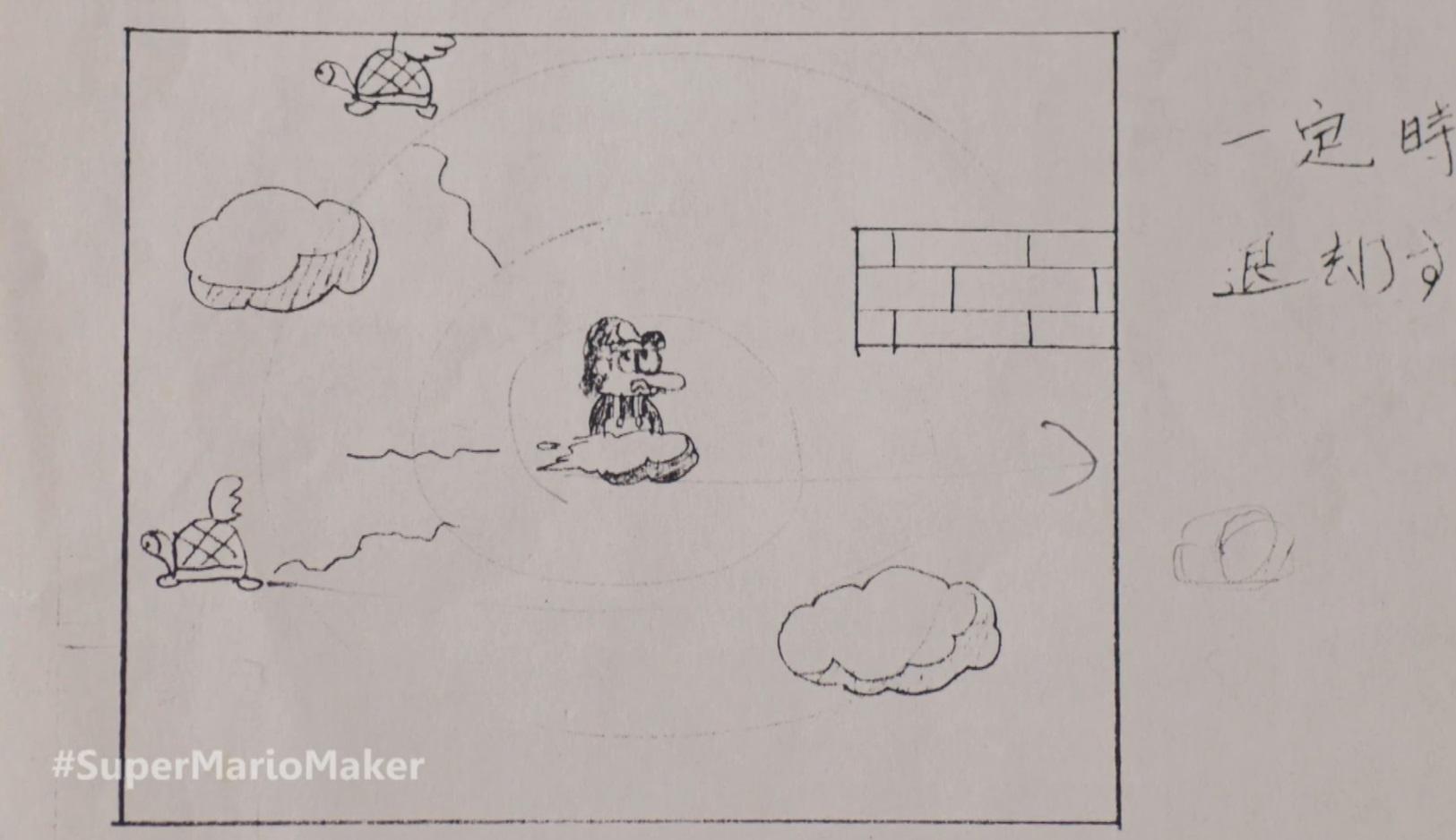 Making of Super Mario Bros Lakitu Cloud Ride Miyamoto