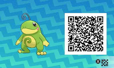 Pokemon Sun And Moon Politoed QR Code