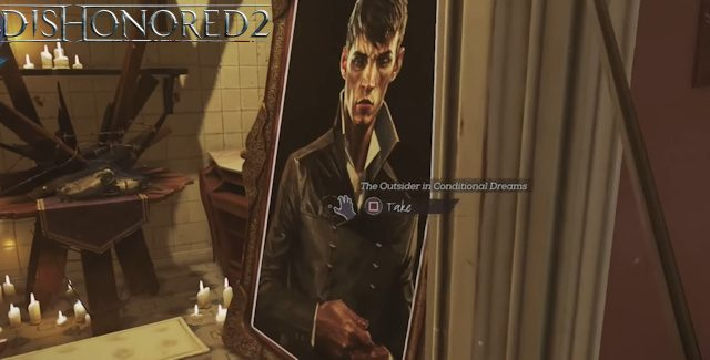 dishonored 2 collectible paintings