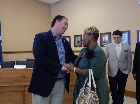 McAllister Moving Past Kissing Congressman