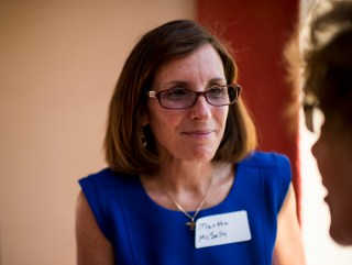 Martha McSally Tries to Fly to Victory