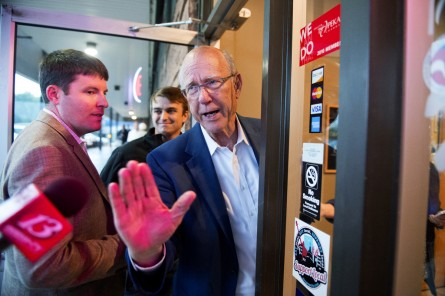 Pat Roberts Finds No Place Like Home