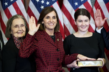 McSally raised $1 million in the second quarter, a huge sum for a House member. (Tom Williams/CQ Roll Call File Photo)