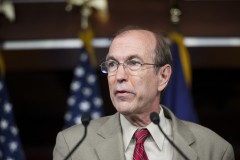 UNITED STATES - JUNE 26: Rep. Scott Garrett, R-N.J., joins House Republicans to speak during a news conference in opposition to the Supreme Court's Defense of Marriage Act (DOMA) decision on Wednesday, June 26, 2013. (Photo By Bill Clark/CQ Roll Call)