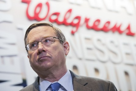 UNITED STATES - FEBRUARY 09: Sen. Mark Kirk, R-Ill., attends an event at the Chinatown Walgreens to unveil new efforts to combat opioid abuse, February 09, 2016. Walgreens will install drug disposal kiosks in 500 stores and also make the opioid antidote naloxone available without a prescription. (Photo By Tom Williams/CQ Roll Call)