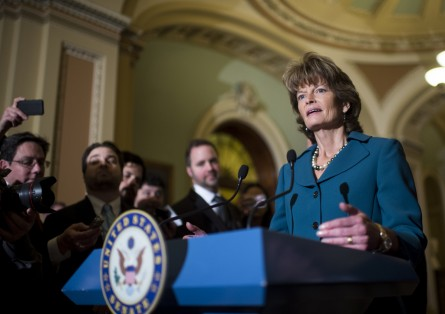 Murkowski may have face another competitive primary. (Bill Clark/CQ Roll Call File Photo)