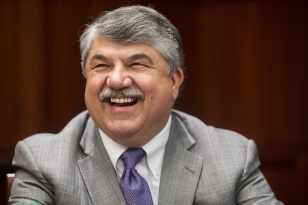 Richard Trumka is president of the AFL-CIO, which has frozen campaign contributions to Democrats. (Bill Clark/CQ Roll Call File Photo)