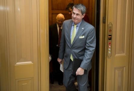 Vitter's gubernatorial bid is proving to be a tough battle. (File Photo By Bill Clark/CQ Roll Call)