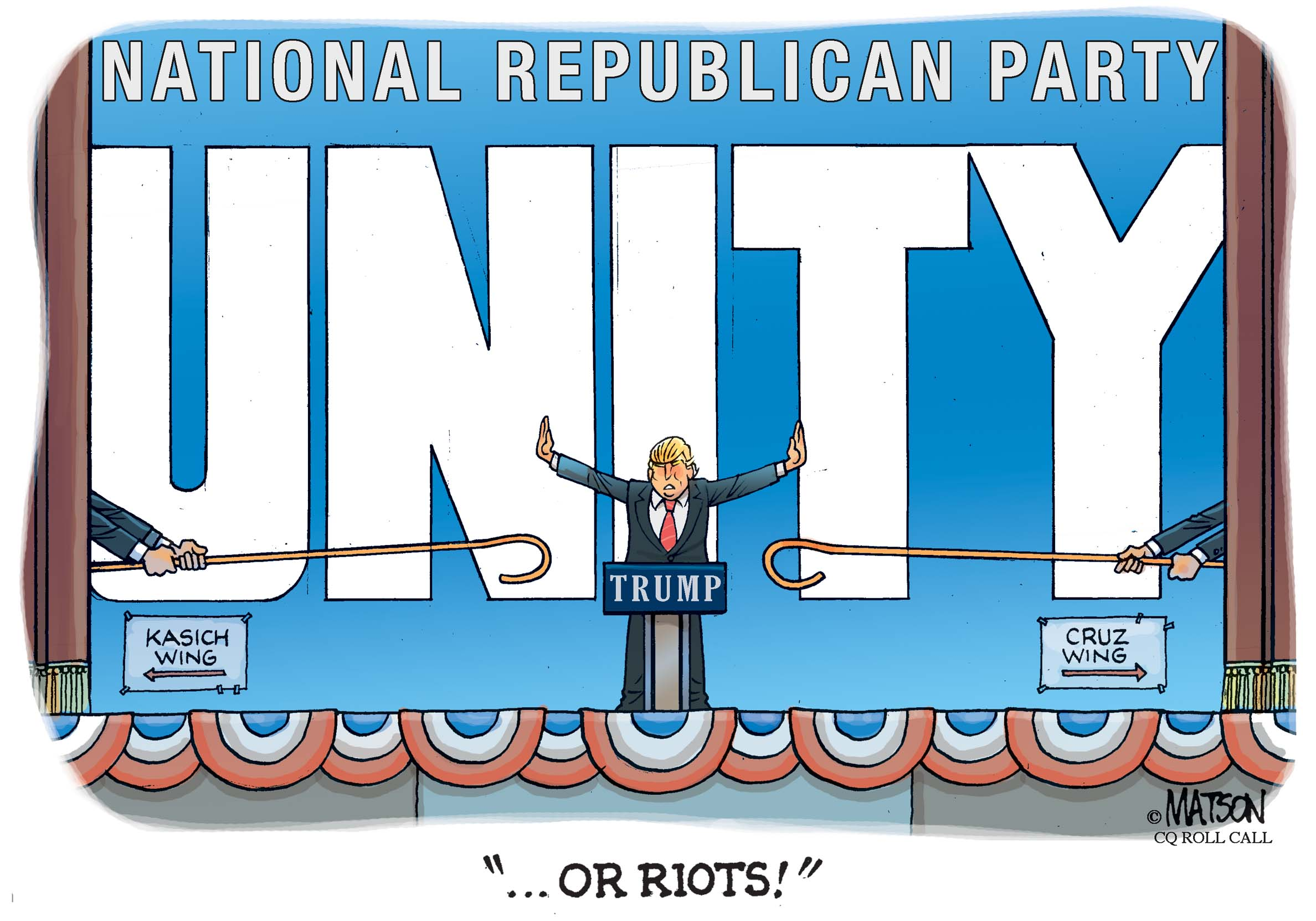 Donald Trump is the Great Republican Unifier