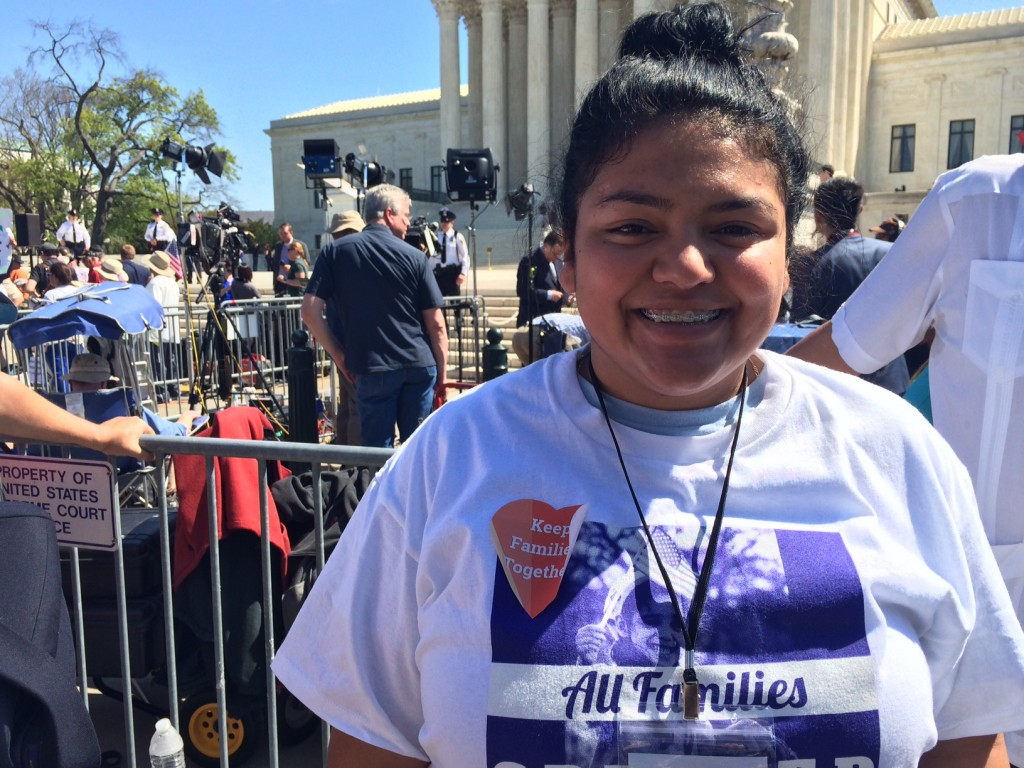 Yamilex Rustrian said the Obama's administration DACA initiative allowed her to work and drive legally. (Rema Rahman/CQ Roll Call)