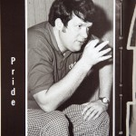 Hastert appears in a 1973 yearbook. (Tom Williams/CQ Roll Call)