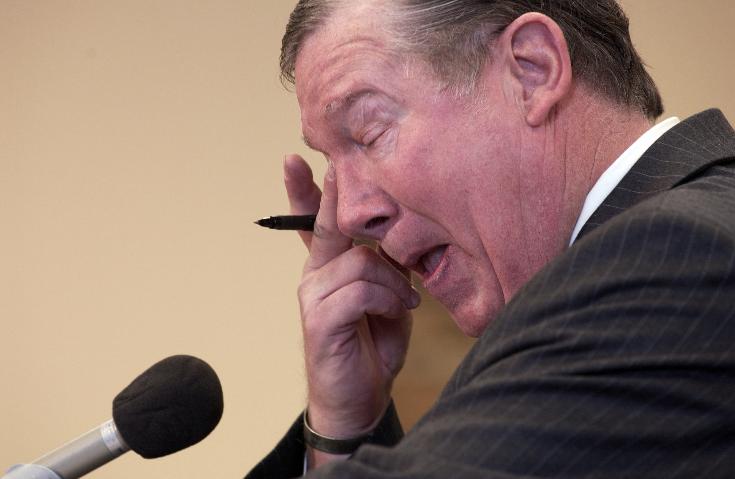 Rep. Randy Cunningham pleaded guilty to tax evasion. (Photo/CQ Roll Call)