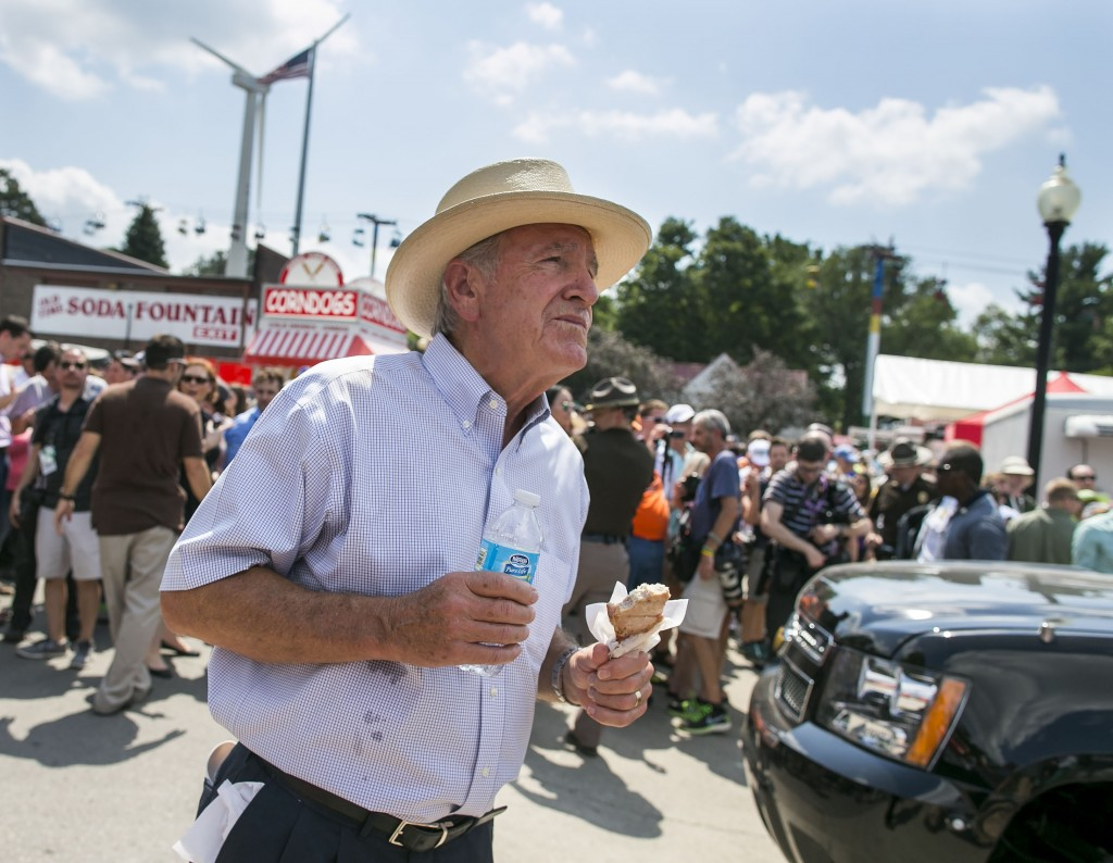 Life after the Senate has been pretty good for former Iowa Sen. Tom Harkin. (Al Drago/CQ Roll Call file photo)