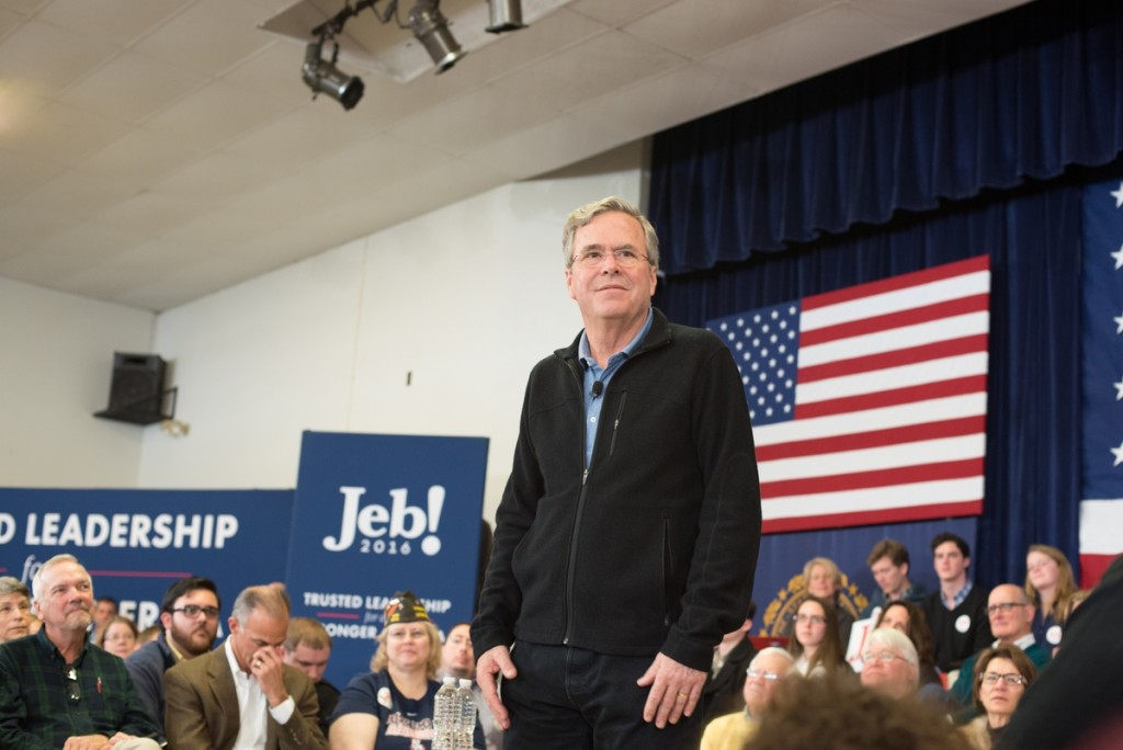 Former Florida Gov. Jeb Bush said he likely should have run for president in 2012. (Meredith Dake-O'Connor/CQ Roll Call)