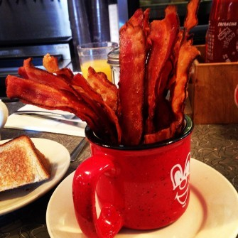The Mug o' Bacon offered at the Red Arrow Diner in Manchester, N.H. (Bill Clark/CQ Roll Call File Photo)