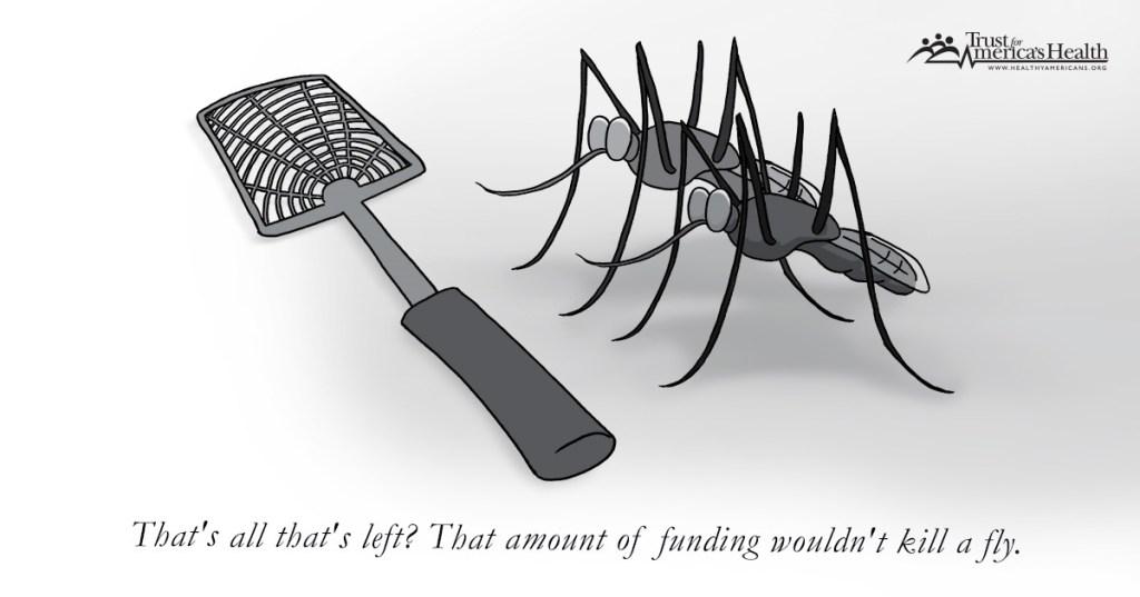 (Cartoon courtesy of Trust for America's Health)