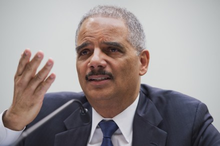 holder040814 440x292 Eric Holder in the Hot Seat on Pot, Fired Up to Defend DOJ Enforcement