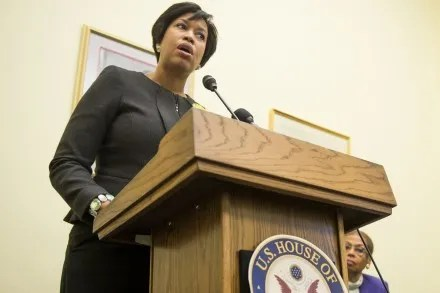 Bowser filed a motion to pause the case, so she could review her position. (Bill Clark/CQ Roll Call File Photo)