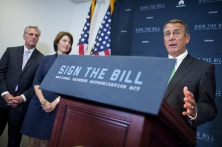 Boehner helped established the DC voucher program. (Tom Williams/CQ Roll Call)