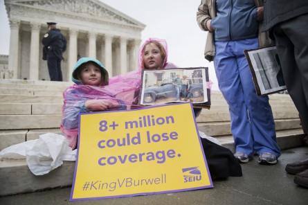 Frustrated Obama King v. Burwell Obamacare