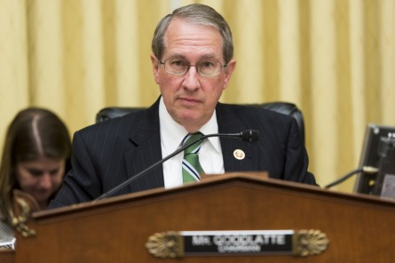 Goodlatte and other Republicans accuse the president of usurping their authority by pardoning drug dealers. (Bill Clark/CQ Roll Call File Photo)