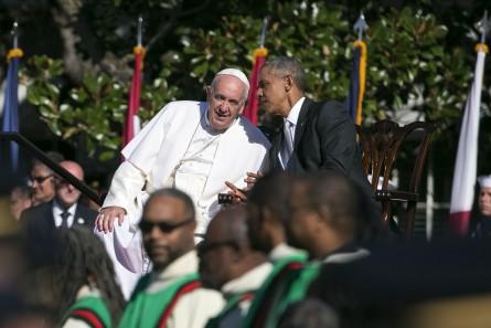 Pope Francis Barack Obama White House
