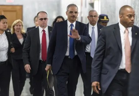 holderl 018 060613 445x308 Lawmakers Weigh In on Holder Resignation (Updated)